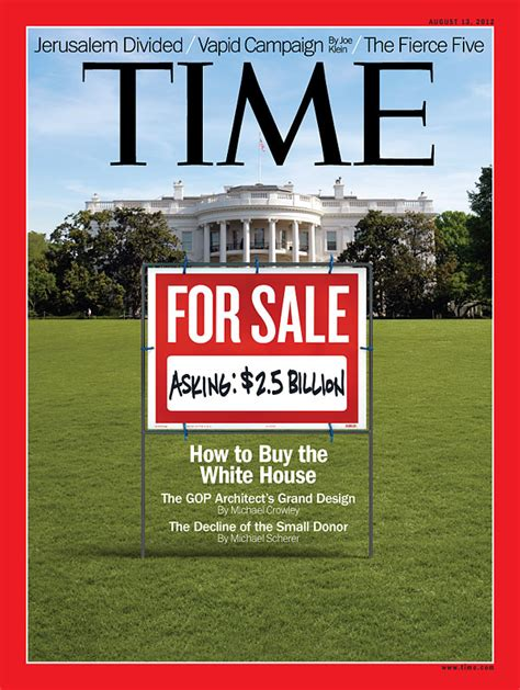 Covers For Sale by Time Magazine Cover For Sale Asking 2 5 Billion Aug