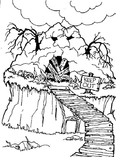 rainbow bridge coloring page coloring page bridge coloring me