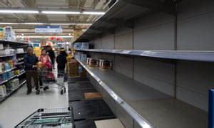 price panic triggers run  toilet paper  taiwan world news  guardian