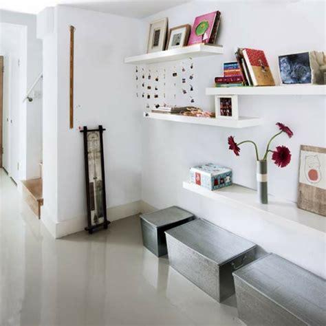 Weisse Holzregale by Modernen Flur Gestalten 80 Inspirierende Ideen