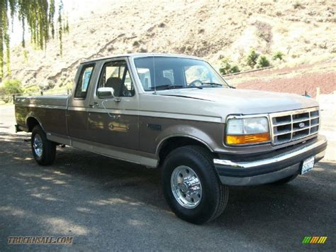 1992 ford f250 xlt extended cab in mocha metallic