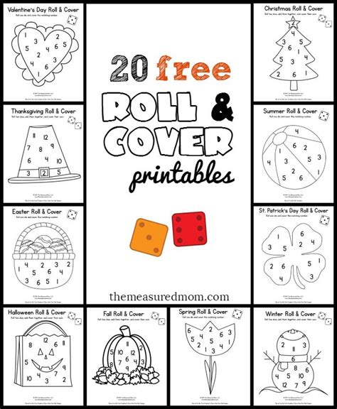 printable colour dice 277 best dice games for kids images on pinterest dice