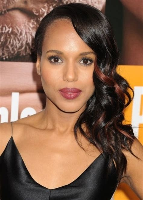 sideswept curled hairstyles for black women 20 beautiful long hairstyles for black women hairstyle