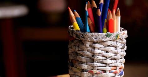 Trik No 1 Ipa Terpadu kerajinan tangan dari kertas tempat pinsil guru