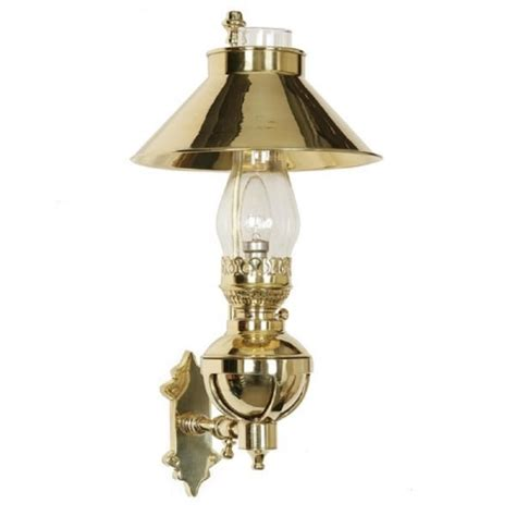 Heritage Lighting by Captains Wall Light Replica L In Solid