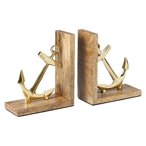 bookends target cute nautical anchor bookends places and spaces pinterest