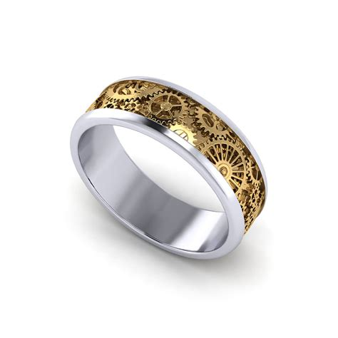Mens Wedding Rings by Mens Kinetic Wedding Ring Jewelry Designs
