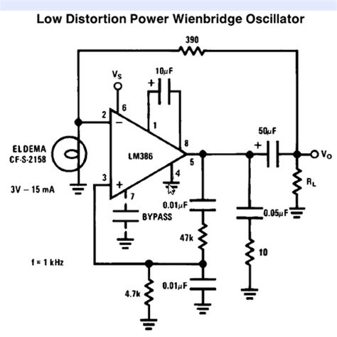 audio oscillator integrated circuit is this a suitable sine wave osc how would i the frequency beginners fritzing forum