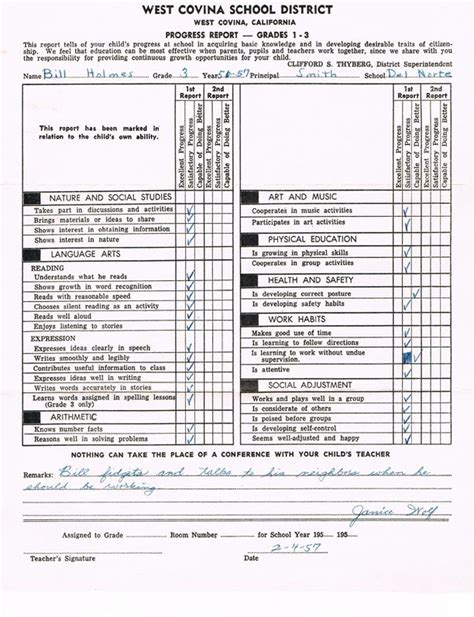 first grade progress report template bill holmes report