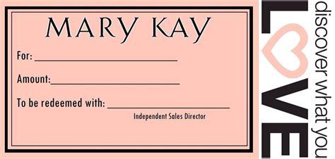 Mary Kay Gift Card - gift certificates mary kay gift certificate mary kay pinterest mary kay
