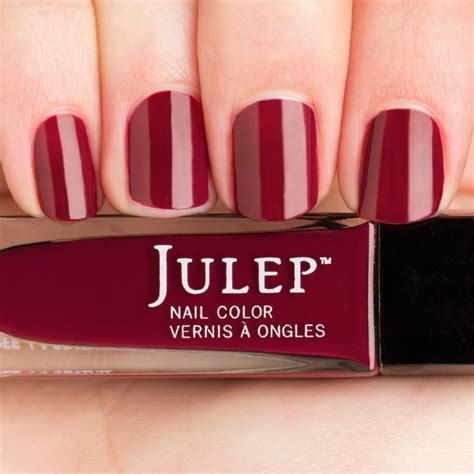 burgundy nail polish colors anisa nail color shop julep polish collection