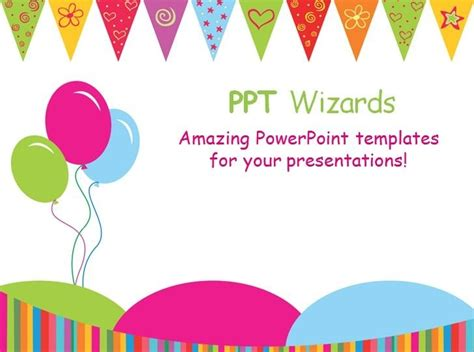 The Best Powerpoint Templates birthday powerpoint templates template idea