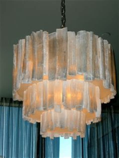 Selenite Chandelier Let There Be Light On 57 Pins