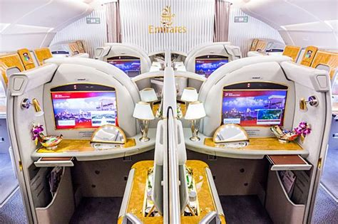 emirates first class a380 emirates a380 first class cabin lifestyle travel