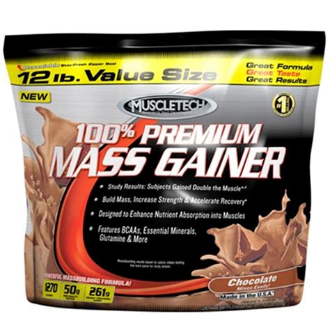 Premium Mass 12lbs Gain Your Size And muscletech 100 premium mass gainer chocolate 12lbs buy