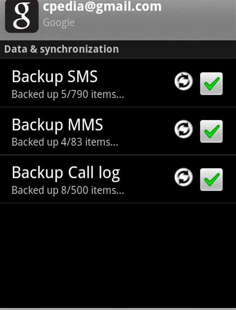 call log apk backup to gmail v0 4 6 apk smart android apps