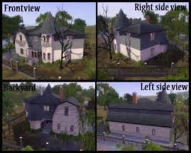 Make My Own Floor Plan Mod The Sims Halloween Special 2010 The Munsters House