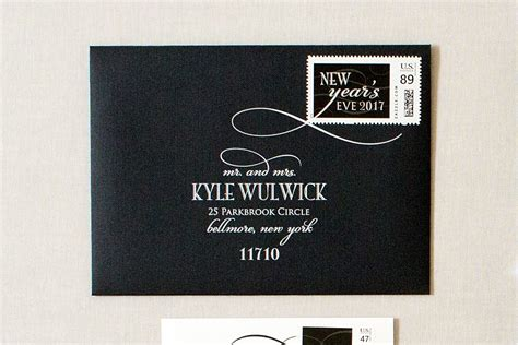 new year envelope married new years formal wedding invitations gourmet invitations