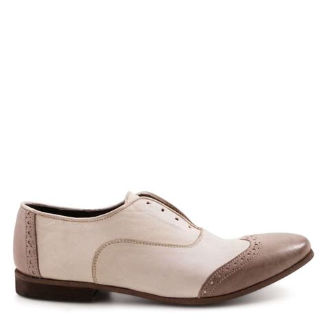 handmade oxford shoes handmade s oxford shoes in leather linen color