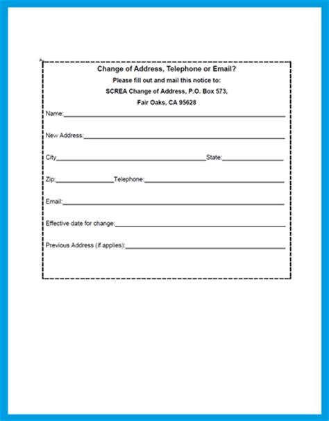 free printable usps change of address form official change of address form usps change of address u