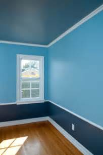 blue paint for interior spaces