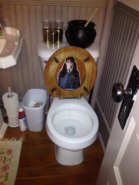 party in the bathroom harry potter party part 2 decorations food filthy