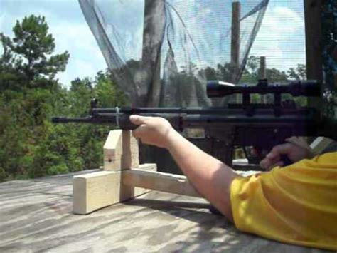 Portable Shooting Bench Cheap Shooting Rest Youtube
