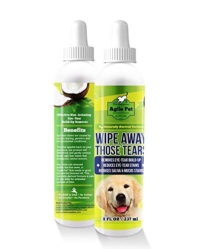 how to clean shih tzu eye boogers tear stain remover for dogs and cats gentle and soothing coconut