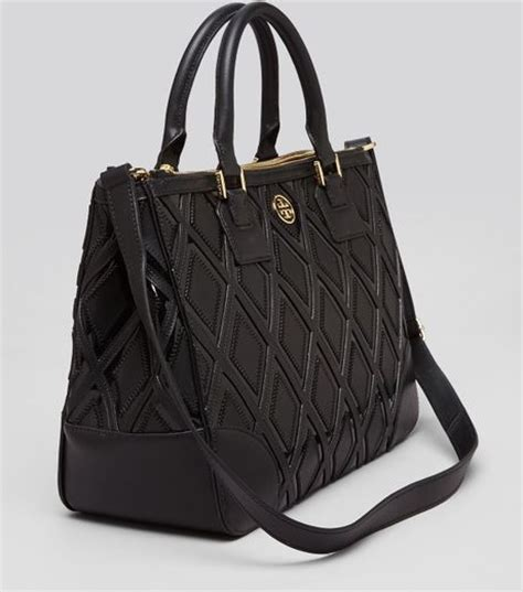 Burch Robinson Patchwork - burch tote robinson patchwork zip in black lyst