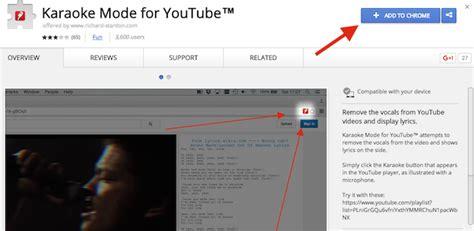 karaoke mode for youtube download como colocar o youtube em modo karaok 234 e cantar junto com