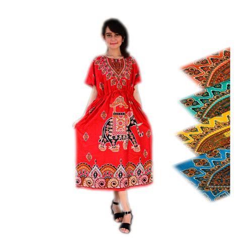 Daster Batik Kekinian Daster Murah daster lowo bangkok baju dress tidur piyama murah wanita