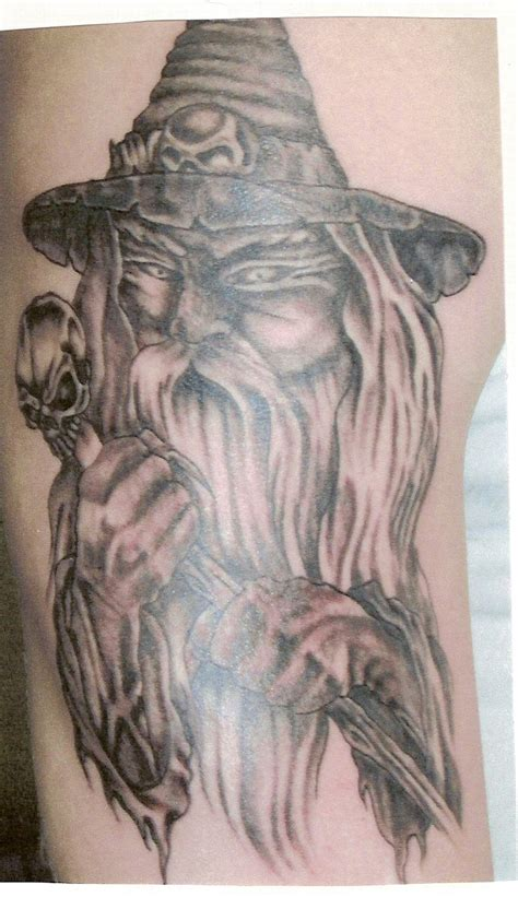 white wizard tattoo wizard tattoos ideas and design