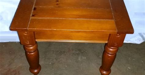 Rustic Furniture Okc by Rustic Wood Plank End Table Okc Craigslist Garage
