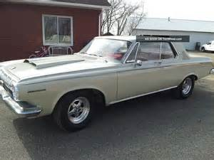 1963 dodge polara 330 440