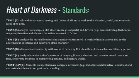 heart of darkness themes heart of darkness text set ap english literature