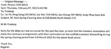 Appeal Letter Nea singapore notes send the jokers to coventry
