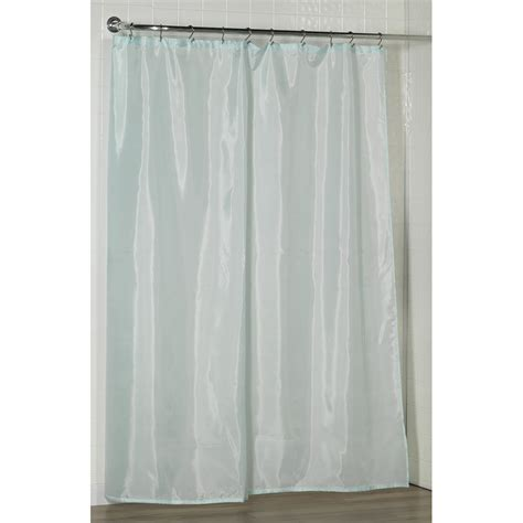 standard sized polyester fabric shower curtain liner in