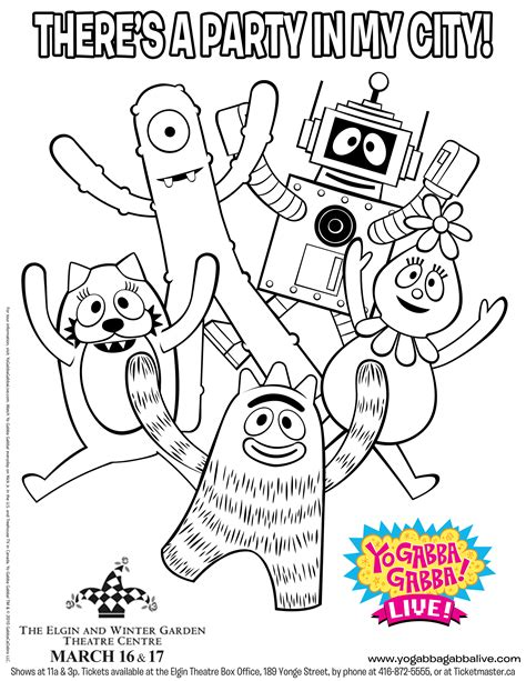 yo gabba coloring pages free this is your indexhtml page
