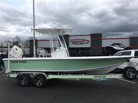 sea pro bay boat sea pro 228 bay boats for sale boats
