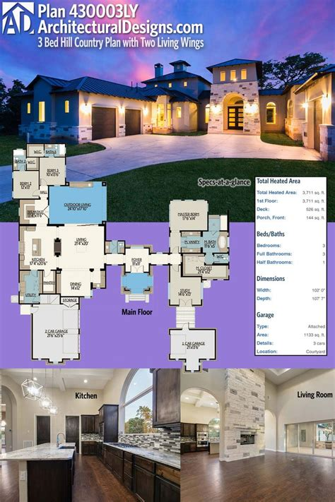 25 best house plans ideas on pinterest 4 bedroom house