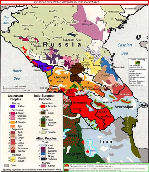 russia ethnic map to understand the position of russia in the syrian