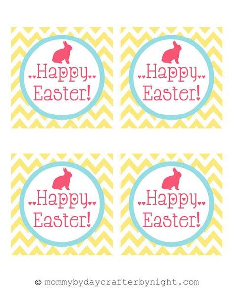 free printable name tags for easter mommy by day crafter by night free printable happy