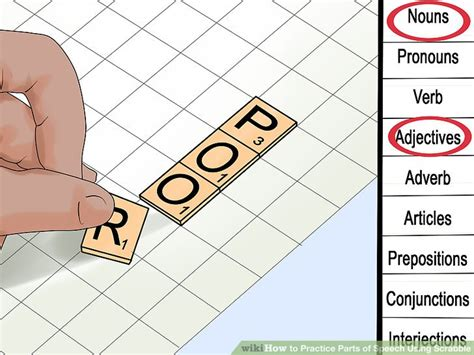 can you use plurals in scrabble 4 ways to practice parts of speech using scrabble wikihow