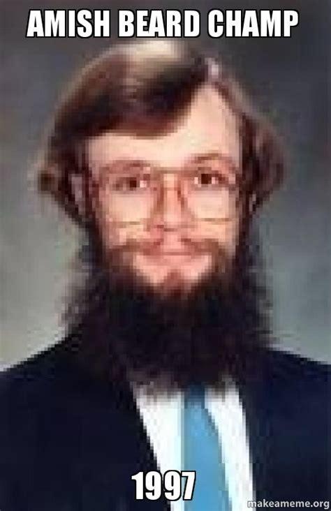 Amish Meme - amish beard memes