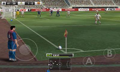 pes 2012 pro evolution soccer pour android à télécharger