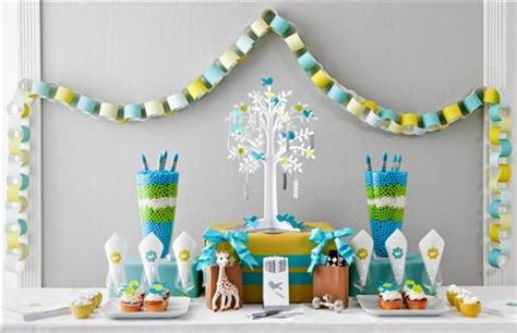 baby shower themes and decorations