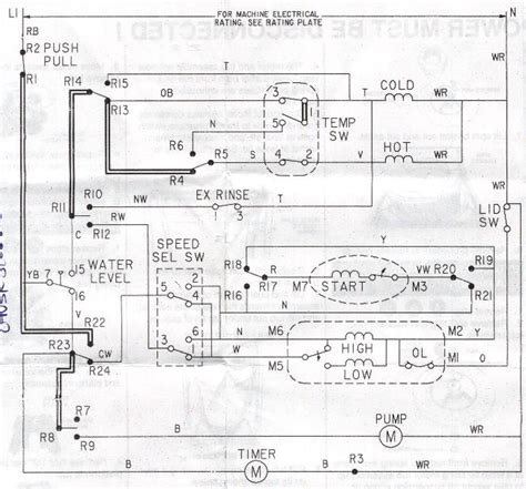 ge washer motor wiring diagram maytag atlantis washer parts diagram maytag free engine