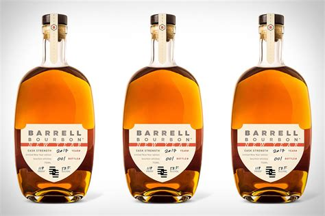 bourbon new years barrell bourbon new year uncrate