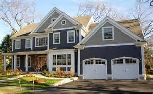 this blue cape cod color house exterior paint colors two tones and