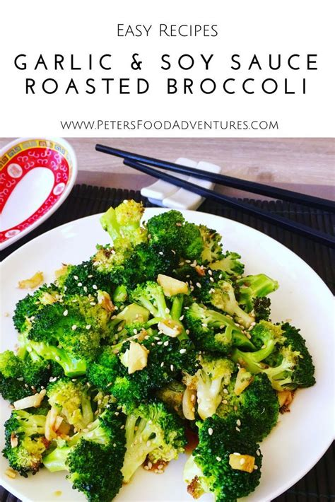 recipe garlicky roasted broccoli quick side dish 25 best ideas about broccoli side dishes on pinterest